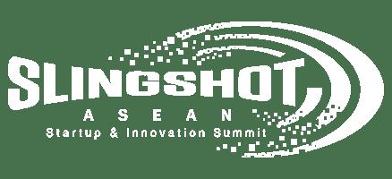 Slingshot logo white